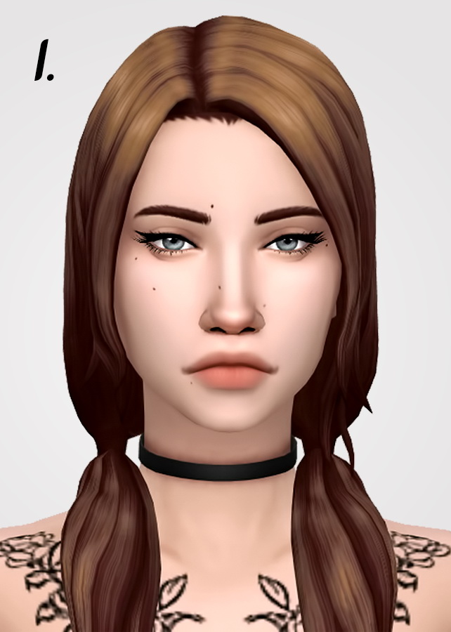 Sims 4 Hairs Tranquility Sims Hair Dump Recolored In