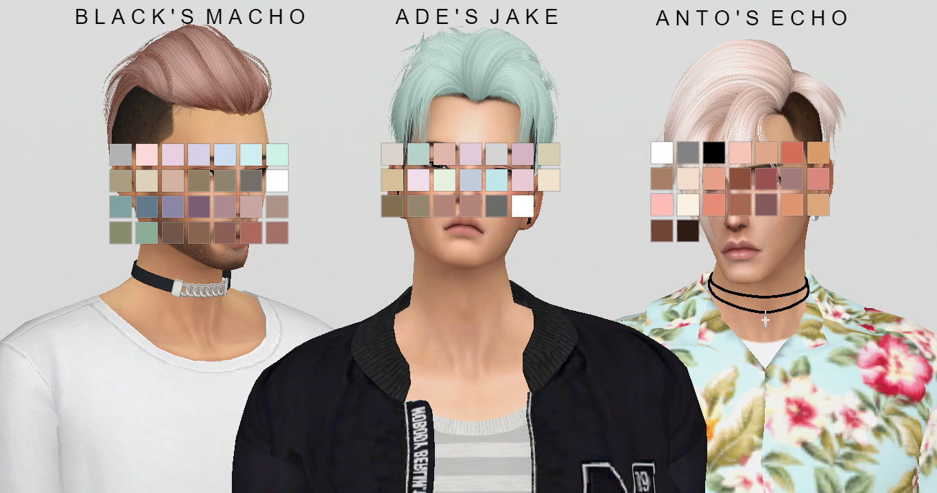 Sims 4 Hairs Simsworkshop Hair Dump V2 Recolor By Catsblob