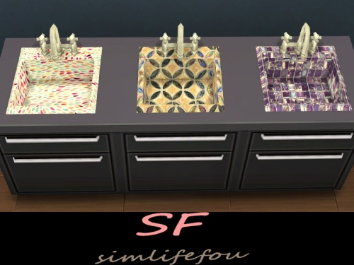 Simlife Kitchen Sink Colored Sims 4 Updates Sims 4