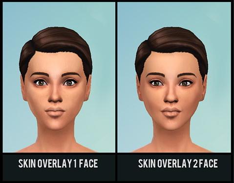 3 Skin Overlays at theasims  Sims 4 Updates