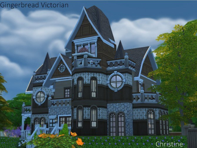 chinese kitchen accessories design layout gingerbread victorian house by christine at cc4sims » sims ...