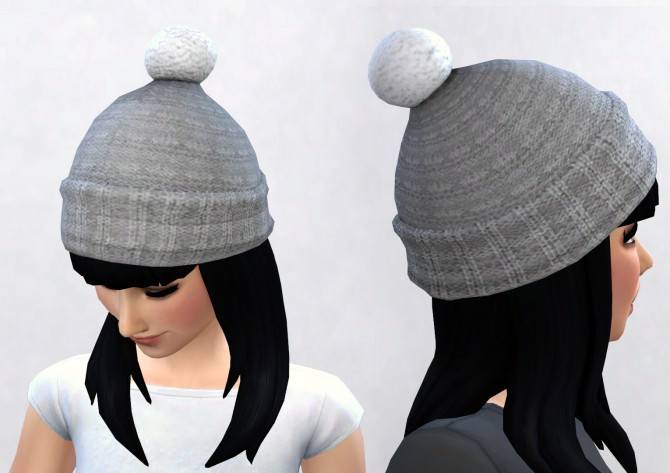 3t4 Seasons Puffball Hat at Pickypikachu  Sims 4 Updates