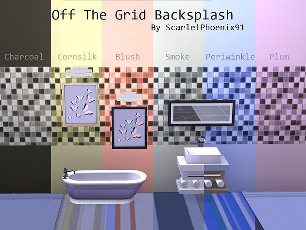 3d Effect Wallpaper For Living Room Off The Grid Backsplash At Scarletphoenix91 187 Sims 4 Updates