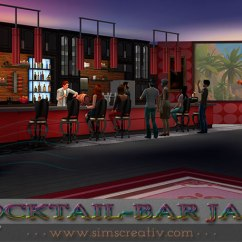 Ceramic Tiles For Living Room Floors Gold Couch Cocktail-bar Jazz By Tanitas8 At Sims Creativ » 4 Updates