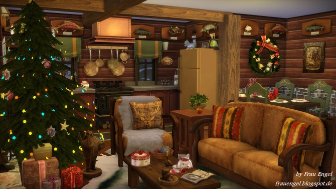 denim living room furniture colors blue and brown christmas log cabin at frau engel » sims 4 updates