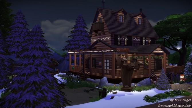 Christmas Log Cabin at Frau Engel  Sims 4 Updates