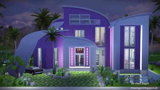 Modern Mansion at Frau Engel  Sims 4 Updates