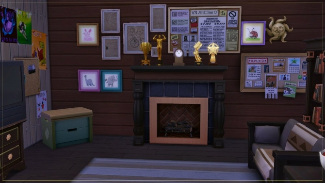 Masha and the Bear house by fatalist at ihelensims  Sims