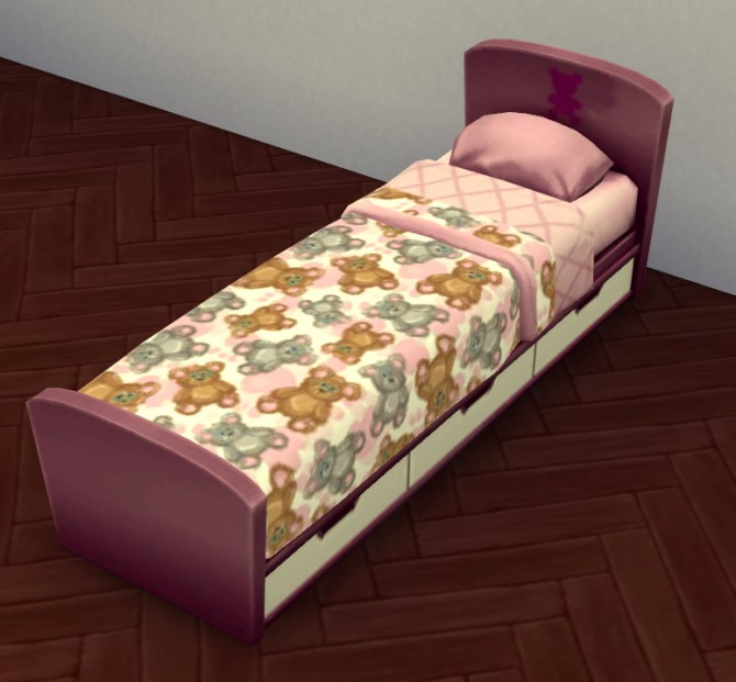 Teddy Bear Kiddies Bed Set By LaurenCheerio At Mod The