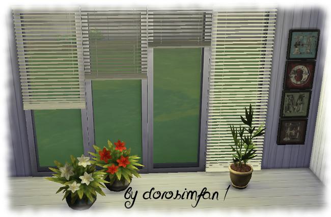 Blinds By Dorosimfan1 At Sims Marktplatz Sims 4 Updates