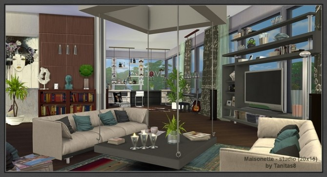 Maisonette studio 20x15 at Tanitas8 Sims  Sims 4 Updates