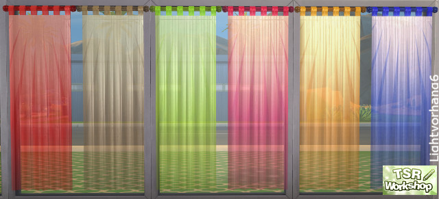 Sheer Curtains By Christine1000 At Tsr