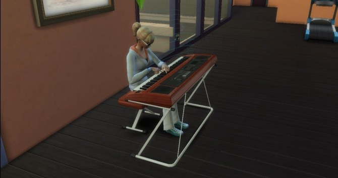 spanish style living room furniture modern fireplace ts4 keyboard piano by adonispluto at mod the sims » 4 ...