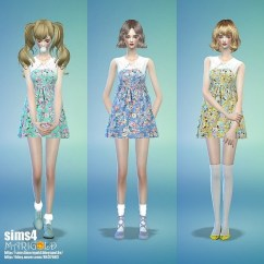 Big Lots Kitchen Appliances Round Wooden Table Collar Flower Onepiece Dress At Marigold » Sims 4 Updates