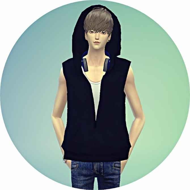 sunflower kitchen accessories all wood cabinets male ears hood vest acc. at marigold » sims 4 updates