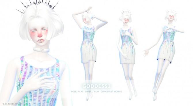 GODDESS POSE 12 PLAY ver Edit at HESS  Sims 4 Updates