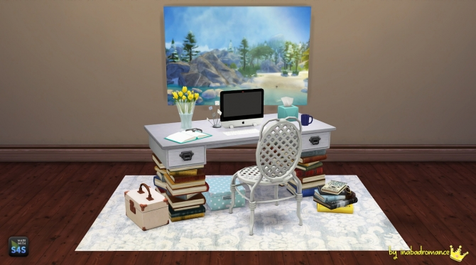 3T4 Office conversion at In a bad Romance  Sims 4 Updates