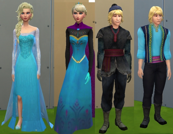 Elsa Anna  Kristoff by mickeymouse254 at Mod The Sims  Sims 4 Updates