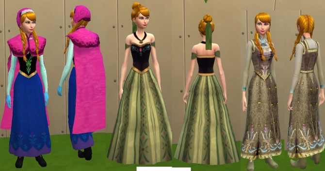 Elsa Anna  Kristoff by mickeymouse254 at Mod The Sims