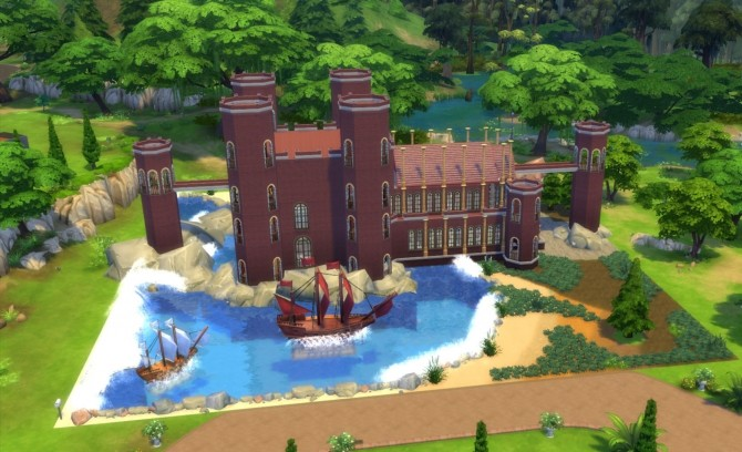 retro kids kitchen bosch appliances game of thrones the red keep by sim4fun at mod sims ...