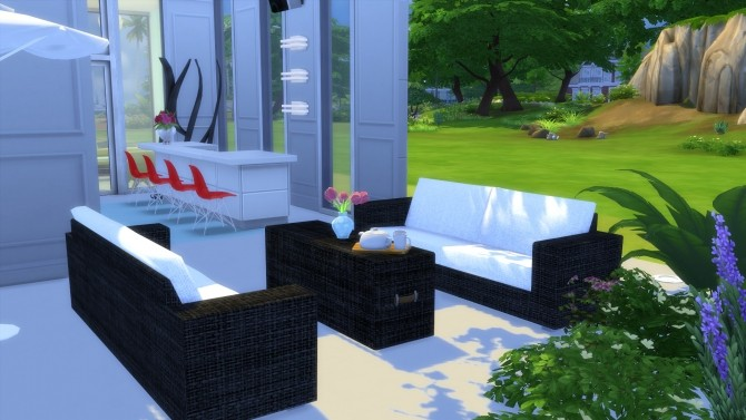 Garden Furnitures Set by Wallpaper at Mod The Sims  Sims