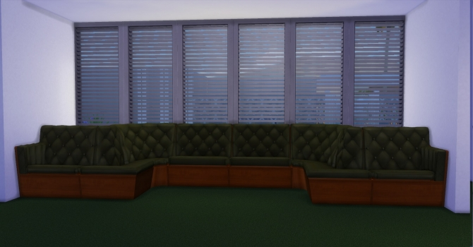 Sectional Living by AdonisPluto at Mod The Sims  Sims 4