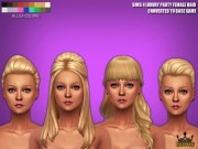 sims 4 luxury party female