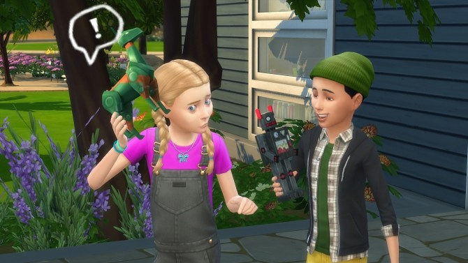 Playable Robot Toys By K9DB At Mod The Sims Sims 4 Updates