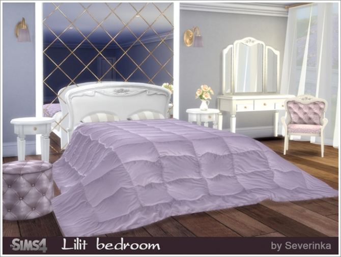 Lilit bedroom at Sims by Severinka  Sims 4 Updates