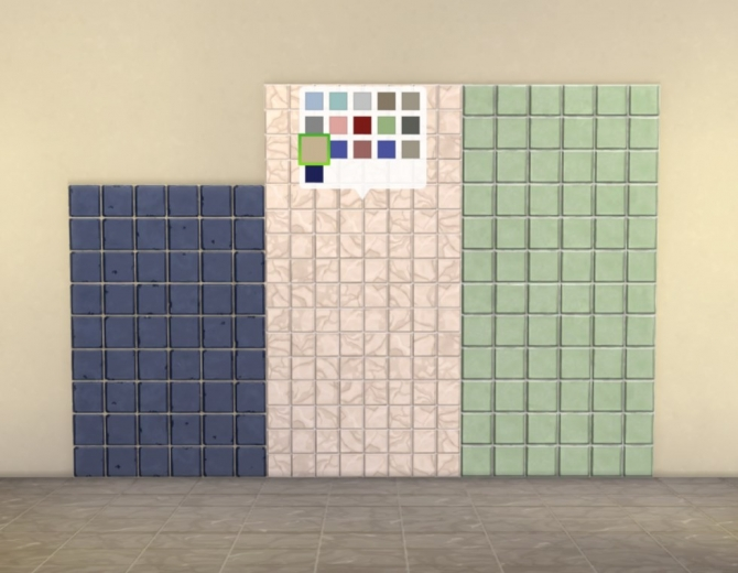 Modular Small Tiles Panels by plasticbox at Mod The Sims
