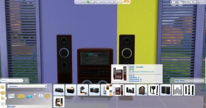 Audio karaoke A box for Jamz by AdonisPluto at Mod The