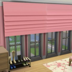 Simple Living Room Curtains Stoves Ireland & Blinds Recolors At Jorgha Haq » Sims 4 Updates