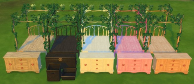 Furniture Set Sims The Sims 4 Custom Content Evening Falls