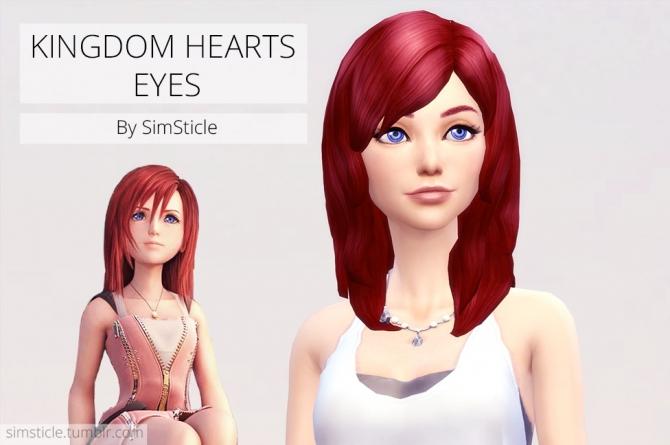 KINGDOM HEARTS EYES at SimSticle  Sims 4 Updates