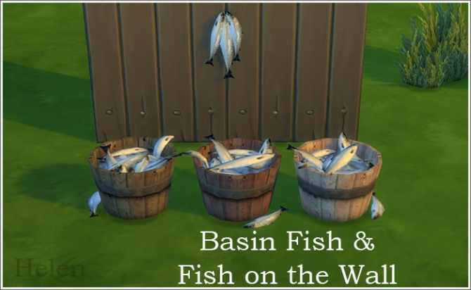fish  Sims 4 Updates  best TS4 CC downloads