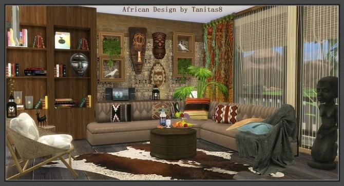African Design house at Tanitas8 Sims  Sims 4 Updates