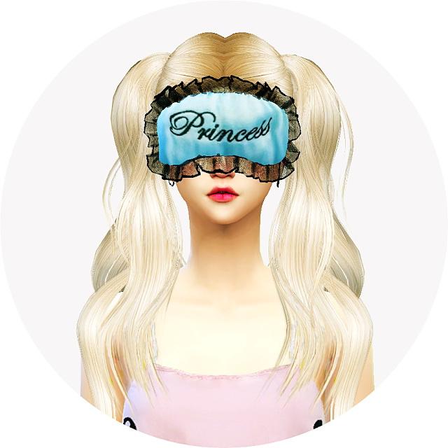 Female sleep eye mask at Marigold  Sims 4 Updates