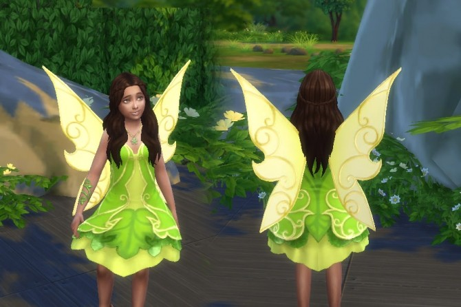 Fairy Dress for Girls at My Stuff  Sims 4 Updates