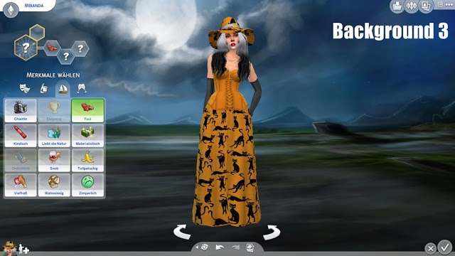 Halloween CAS Backgrounds at Annetts Sims 4 Welt  Sims 4