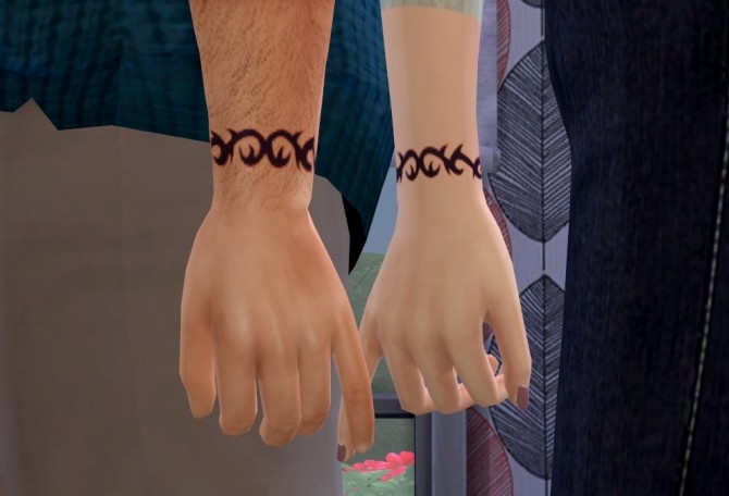 Tribal Wrist Tattoo at Tukete  Sims 4 Updates
