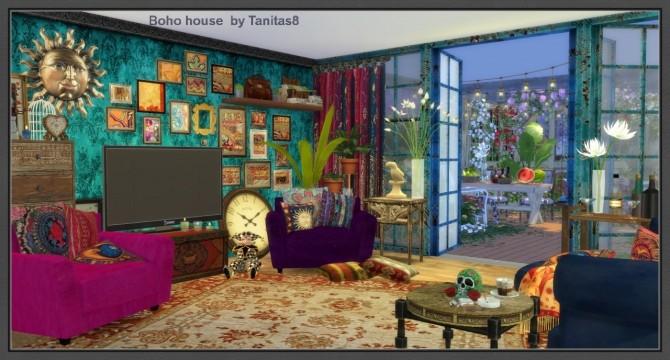 Boho house at Tanitas8 Sims  Sims 4 Updates
