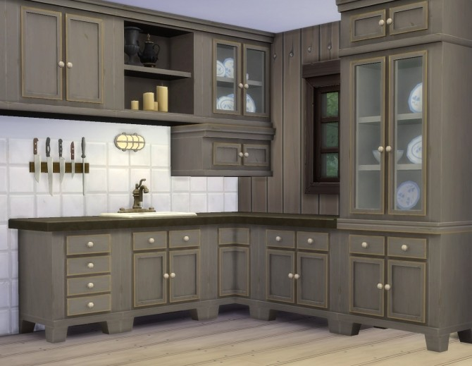 Country Kitchen By Plasticbox At Mod The Sims Sims 4 Updates
