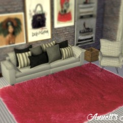 Apple Kitchen Rugs Cabinet Islands Fluffy At Annett's Sims 4 Welt » Updates