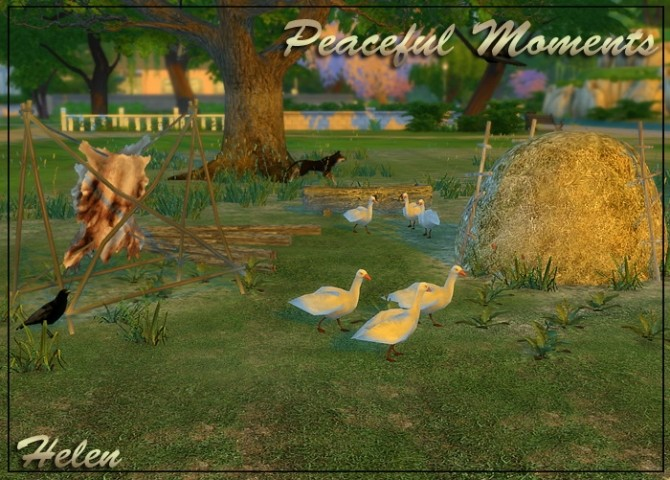 Peaceful Moments At Helen Sims 187 Sims 4 Updates