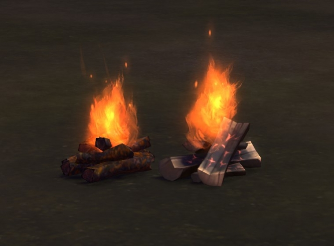 Two Fires by plasticbox at Mod The Sims  Sims 4 Updates