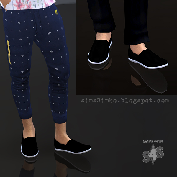 Male Shoes 01 at IMHO Sims 4  Sims 4 Updates