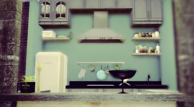 Kitchen 1 at Sims4 Luxury  Sims 4 Updates