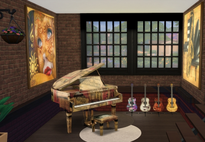 denim living room furniture how do i decorate my small music at pqsims4 » sims 4 updates