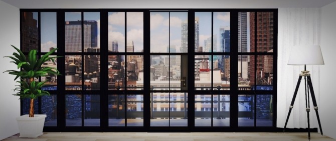 NYC Backdrop At Maximss Sims 4 Updates