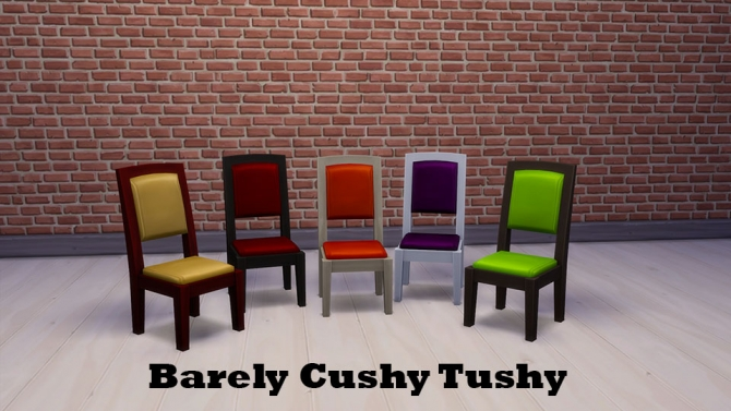 Barely Cushy Tushy Collection by Bronwynn at Mod The Sims  Sims 4 Updates